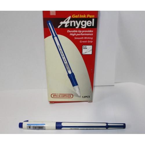 Ручка АН-811 гел. син.