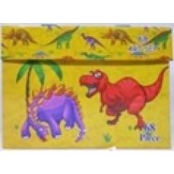 Набор детск.творч.(68предм) чемодан № Di-68 Динозавр